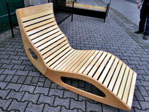 Wellnessliege Holz