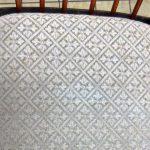 Essgruppe retro 50er 60er Jahre Sprossenstuhl Sitzbezug