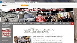 Unsere aktuelle Internetadresse www.troedel-oasen.de