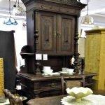 Wunderschöne Gründerzeitmöbel Aufsatzschrank