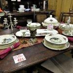 Aktion der gedeckte Tisch Geschirr Sarreguemines