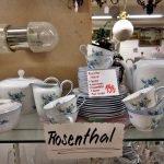 Aktion der gedeckte Tisch Geschirr Rosenthal