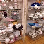 Aktion der gedeckte Tisch Geschirr und Porzellan