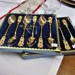Aktion der gedeckte Tisch Besteck Hildesheimer Rose
