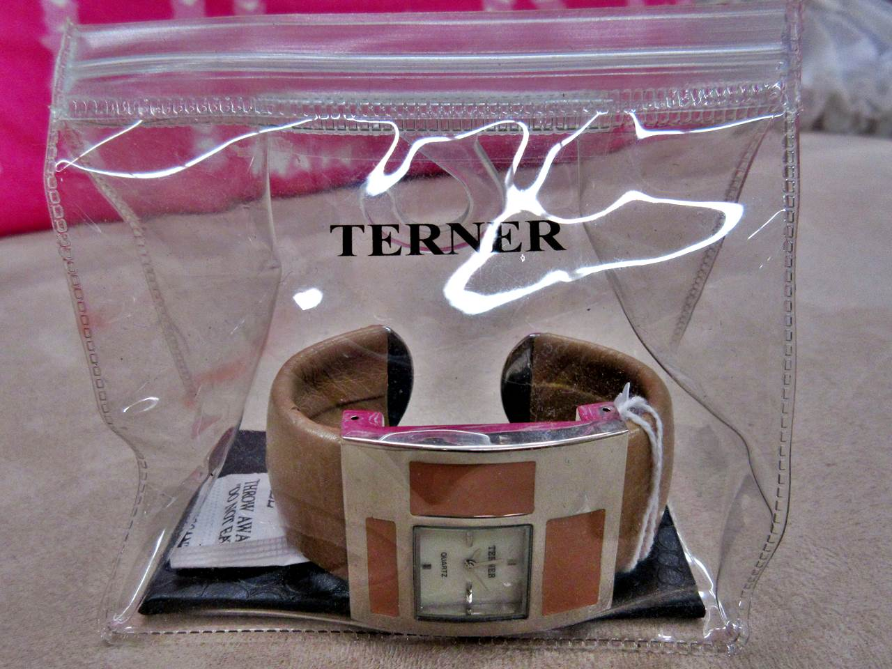 Armbanduhr Terner braun