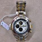 Armbanduhr Mercedes silbern golden