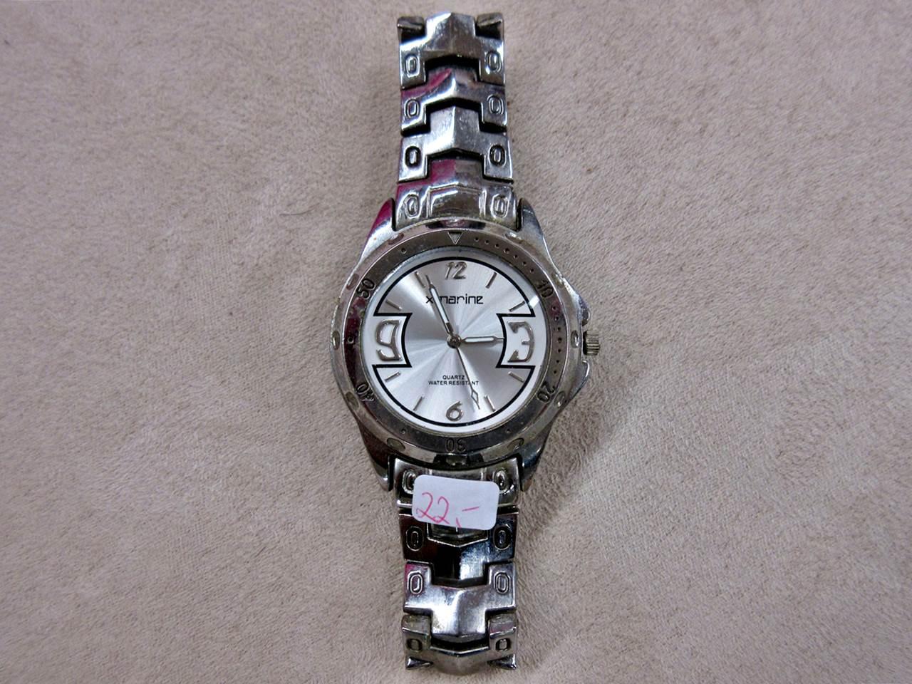 Armbanduhr xmarine silbern