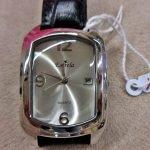 Armbanduhr Estrela silbern schwarz