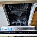 Einbauküche Nobilia weiss AEG Geschirrspüler