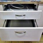 Einbauküche Nobilia weiss Schubladen SoftClose