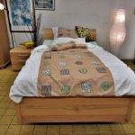 Trendiges Bett vorne