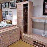 Moderne Wohnwand mit Sideboard