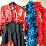 Karnevalskostüme Flamenco-Tänzerin