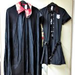 Karnevalskostüme Vampir und Polizei