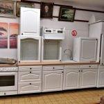 Einbauküche Landhaus weiss