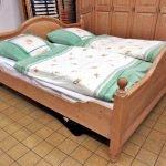 Schlafzimmer Weichholz Landhaus hell natur
