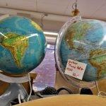 Globus Weltkugel beleuchtet