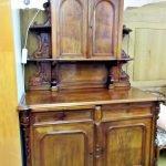Aufsatzschrank antik Holz massiv
