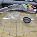 Wohnzimmertisch Plexiglas modern