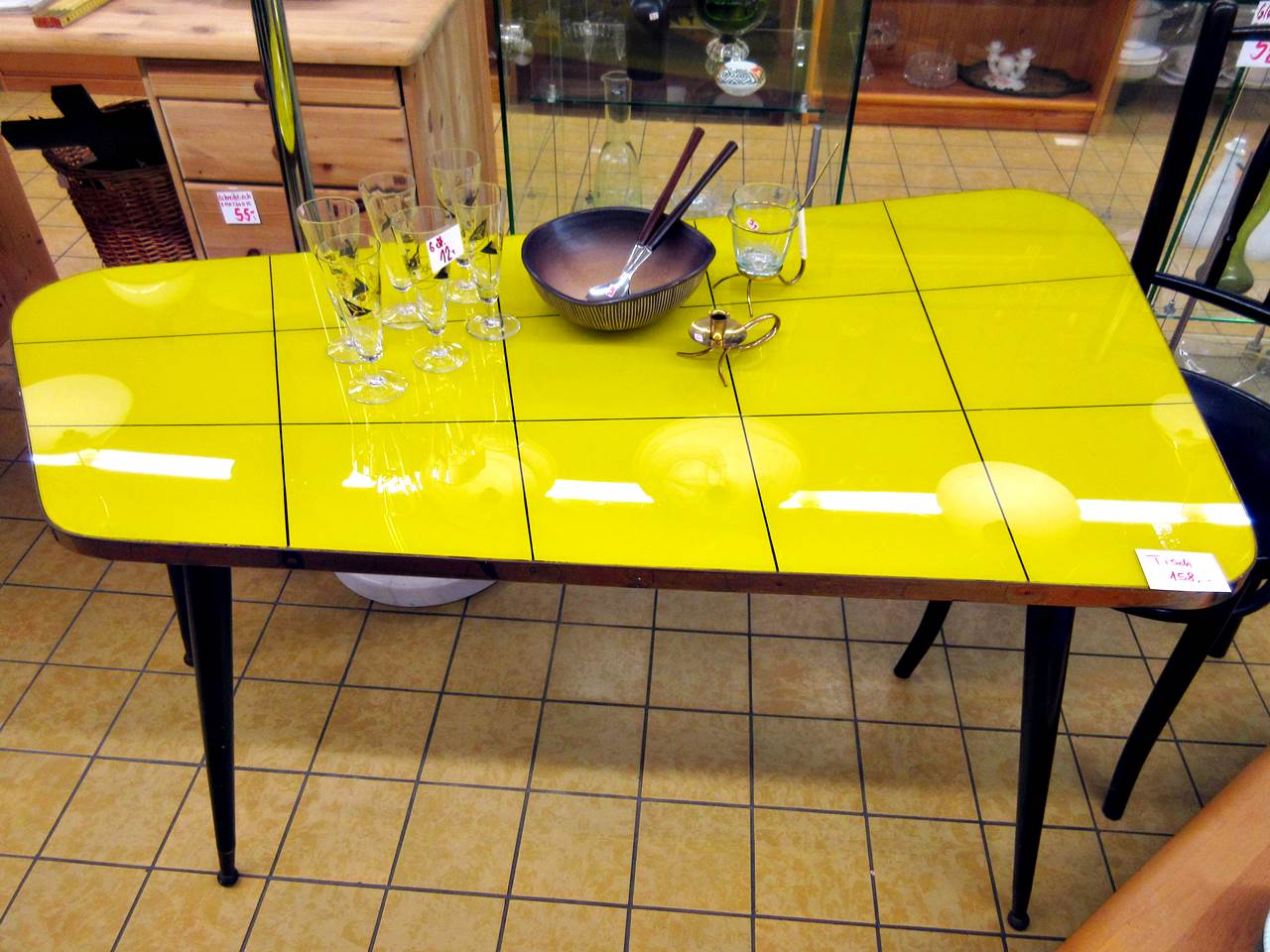 Retro Tische Bauhaus Stühle Danish Design Tisch | Trödel