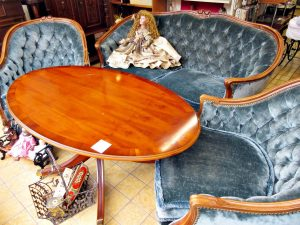 Chippendale Sitzgruppe Sitzgarnitur