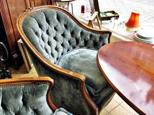 Chippendale Sitzgruppe Sitzgarnitur Sessel