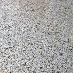 Granittisch bianco Nierenform schwer