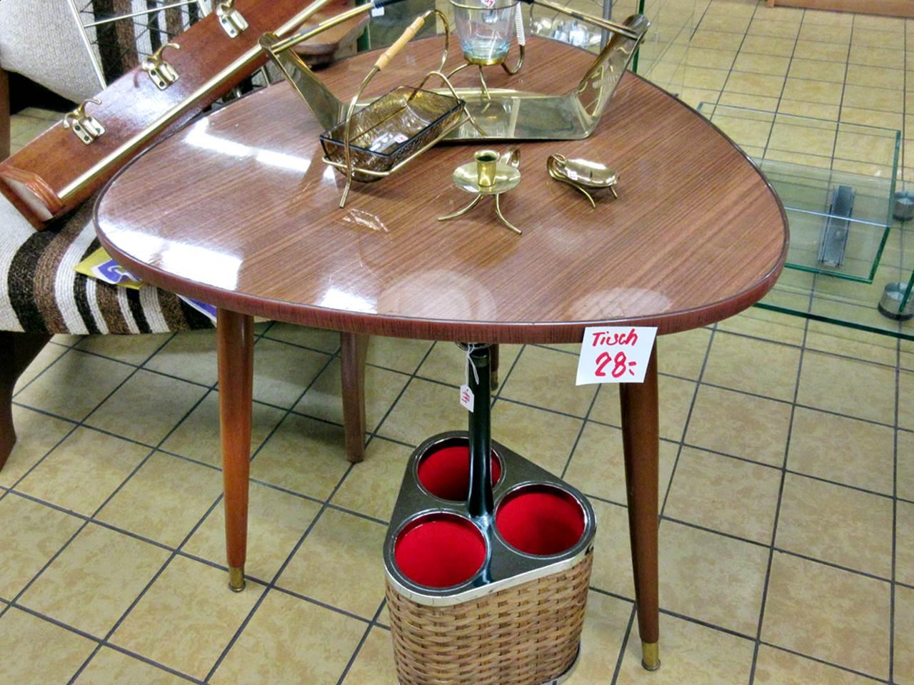 Tisch Beistelltisch 60er retro