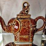 Elefant Keramik Teekanne
