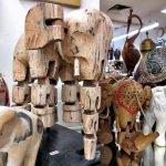 Elefant Holz Marionette