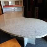 Schreibtisch schwer Marmor