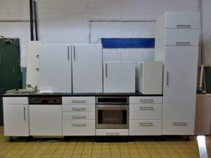 Einbauküche Küchenzeile mit oder ohne E-Geräte | Trödel Oase ...