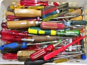 Werkzeug Schraubendreher