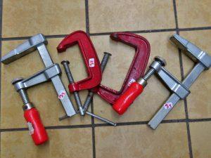 Werkzeug Schraubzwingen