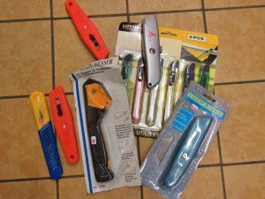 Werkzeug Cuttermesser Messer