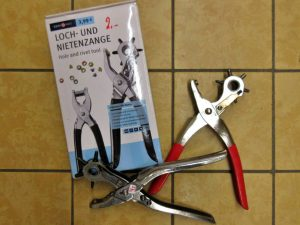 Werkzeug Lochzangen