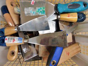 Werkzeuge Spachtel