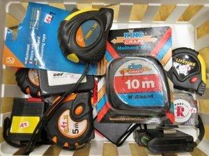 Werkzeuge Rollmaßbänder