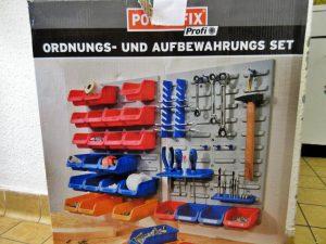 Werkzeuge Ordnungswand