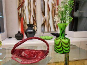Dekoration Glas-Vasen