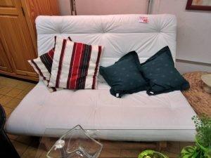 Schlafsofa Klappsofa IKEA Karup weiss