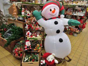 Weihnachtsmarkt 2019 Schneemann