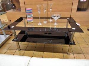 Wohnzimmertisch Glastisch