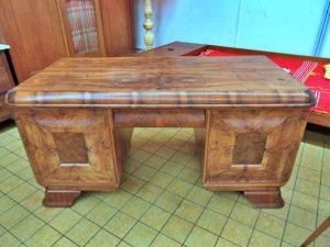 Schreibtisch Wurzelholz antik
