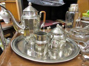 Kaffeegedeck Silber