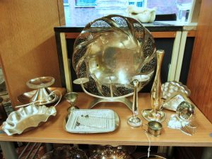 Vasen Kerzenleuchter Schalen Silber