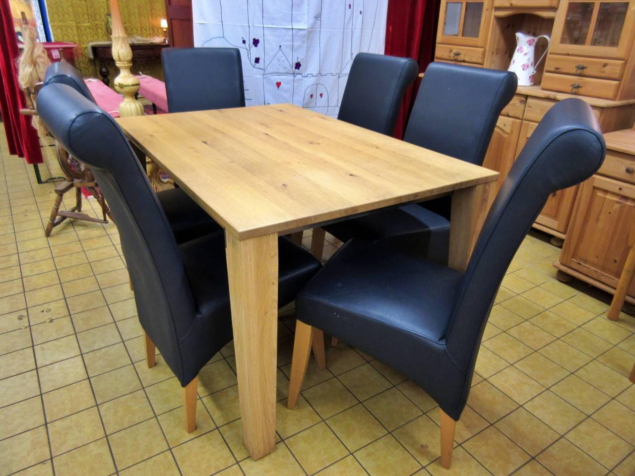 Tisch Wildeiche Venjakob 6 Stühle
