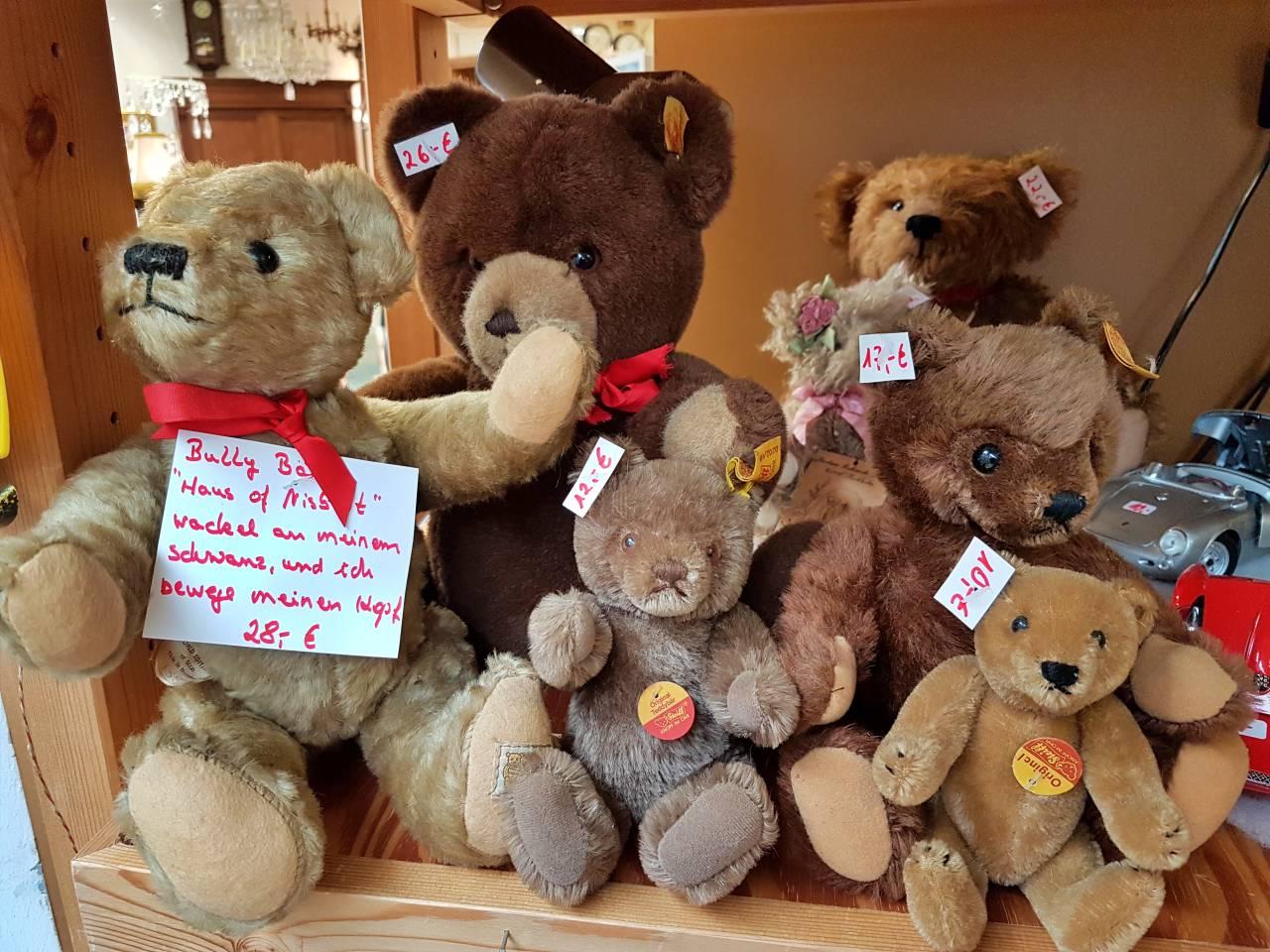 Teddybären zum Sammeln und Knuddeln von Steiff und andere