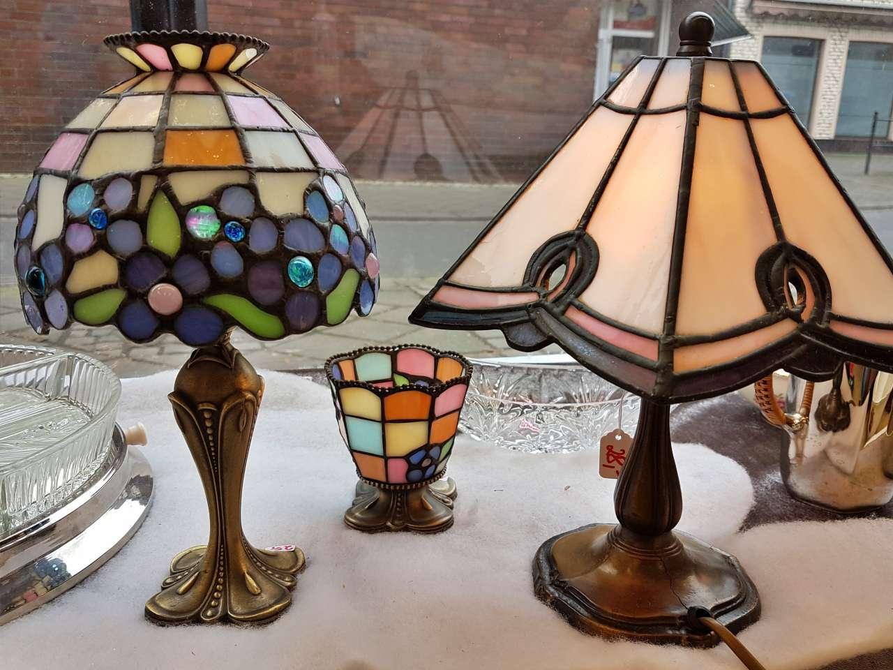 Dekoration schöner Wohnen Tiffany-Lampen
