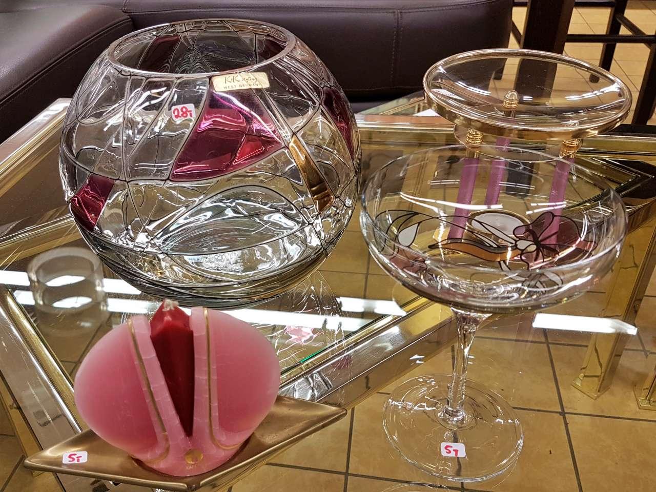 Dekoration schöner Wohnen Schalen und Schüsseln aus Glas